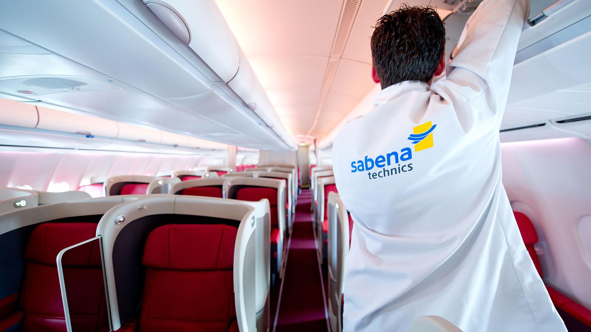Vip Cabin Refurbishment Of An A310 Sabena Technics
